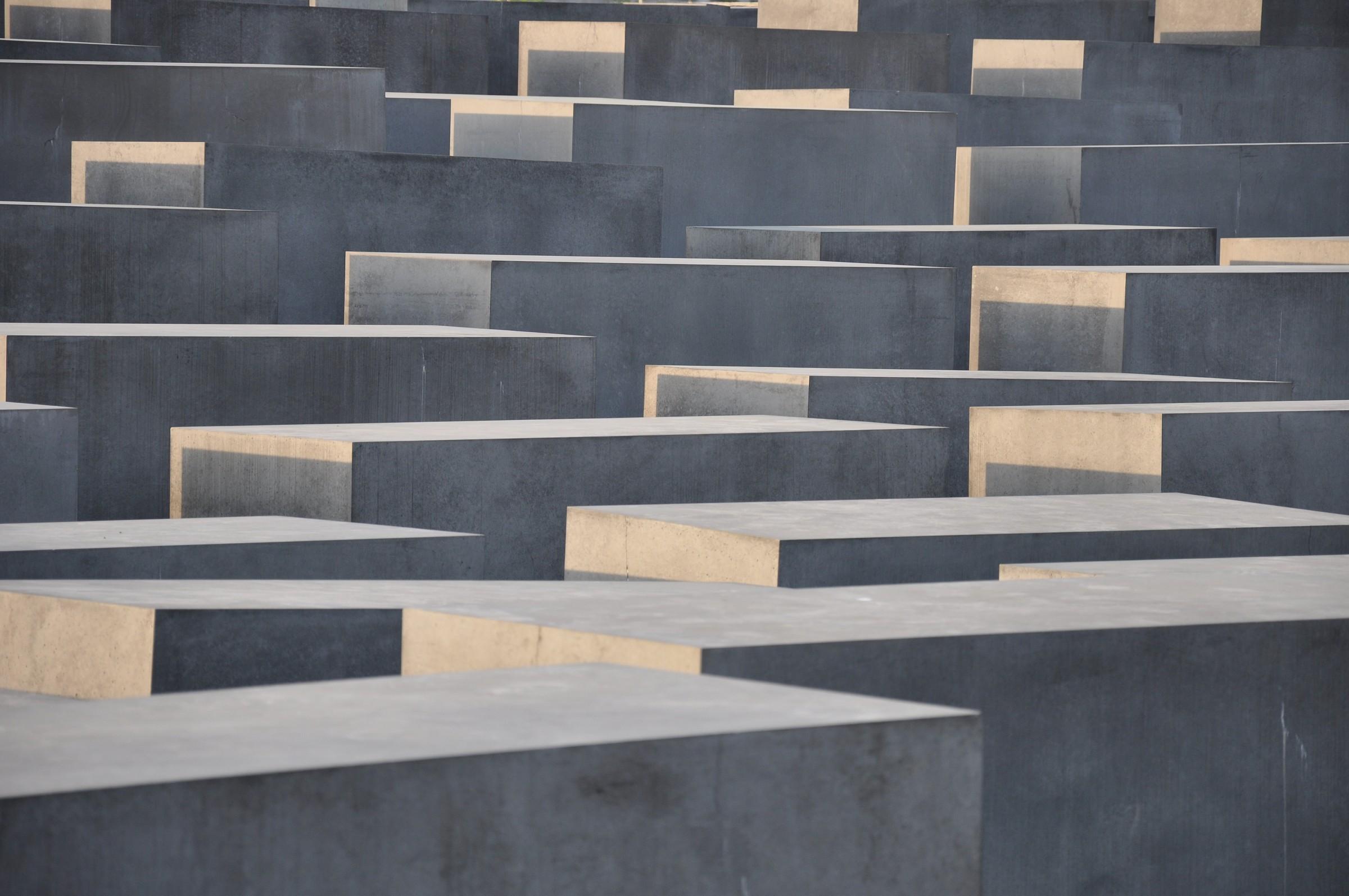 Holocaust Mahnmal, Berlino...