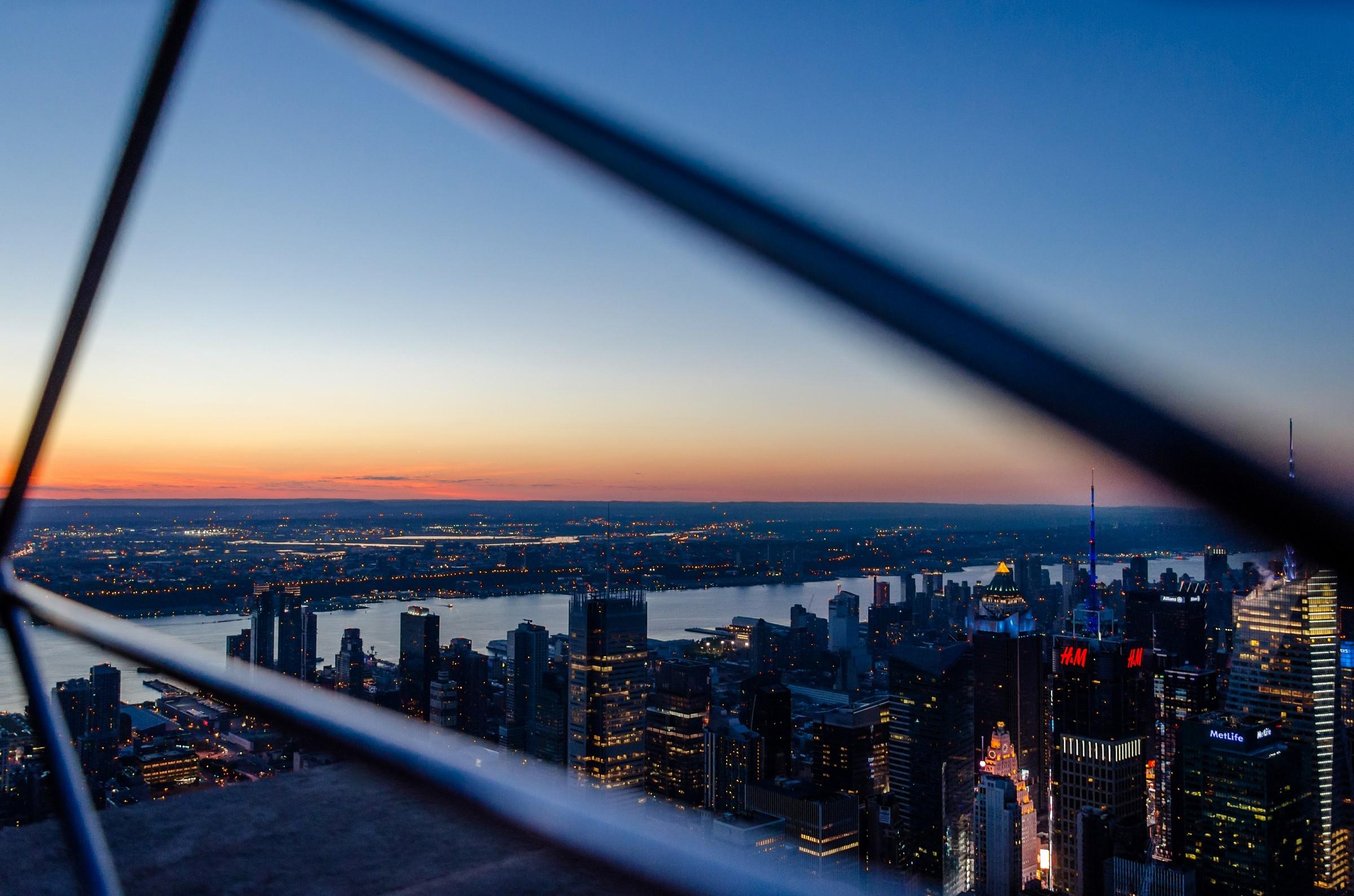Sunset Manhattan...