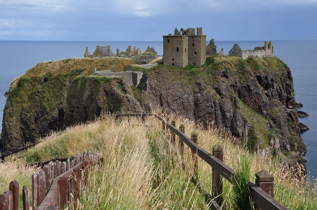 castello di Dunnottar...