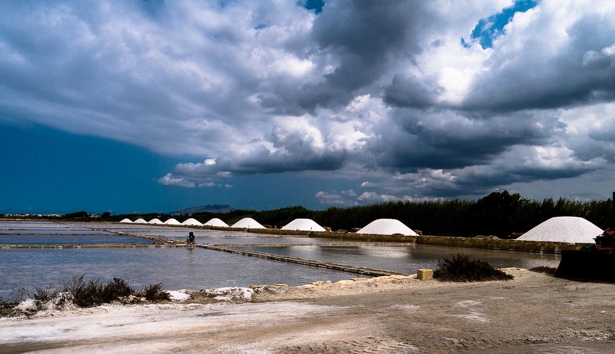 Drying of Salt...