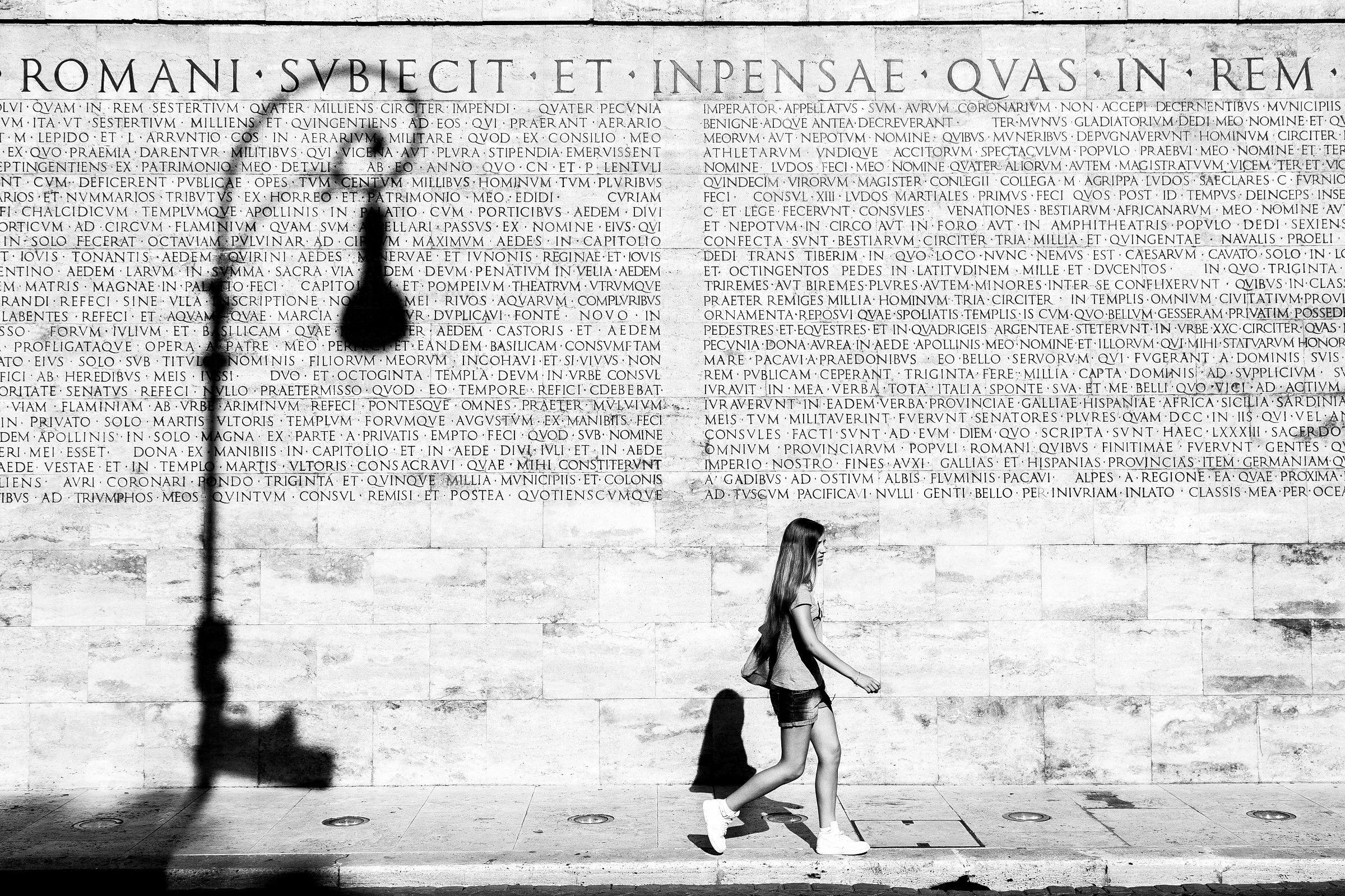 Roman subiecit inpensae et quas in rem...