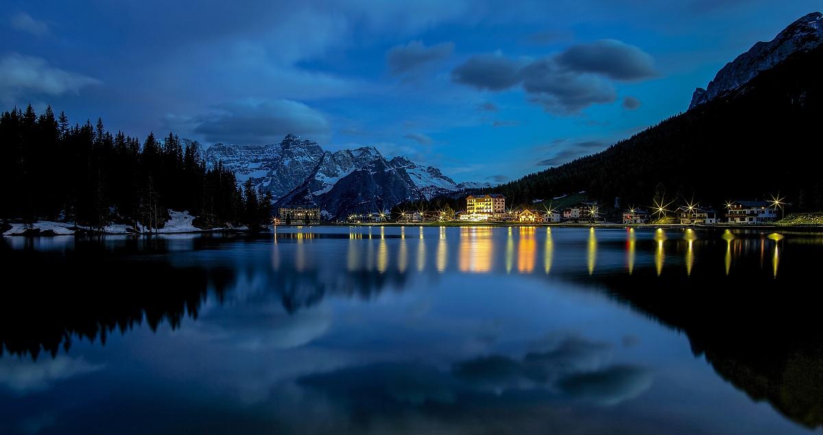 An enchanted lake...