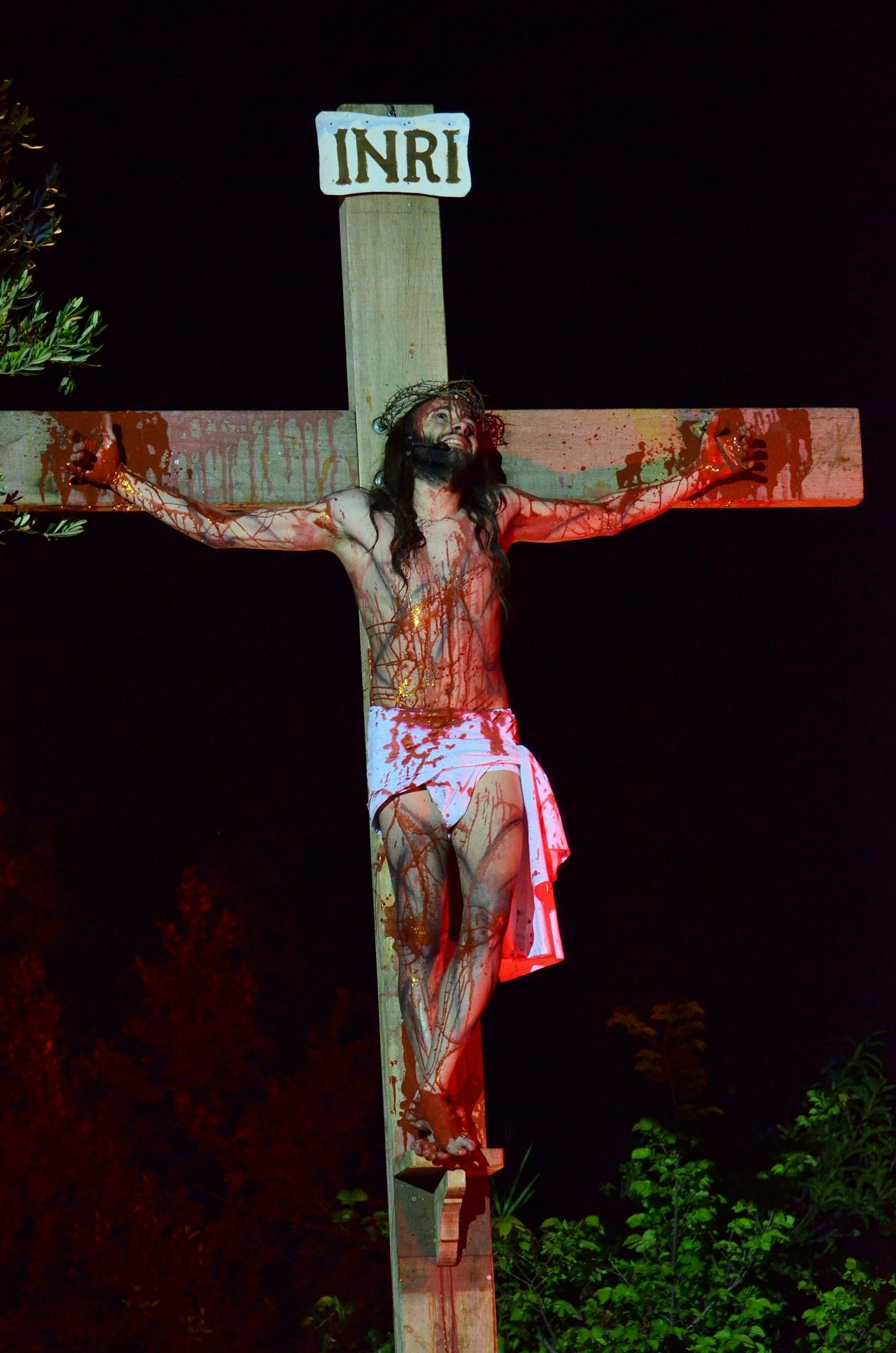 via crucis vivente monforte san giorgio me...