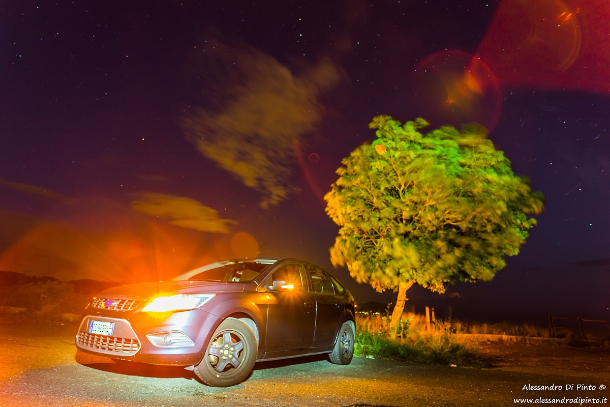Painting car with light...