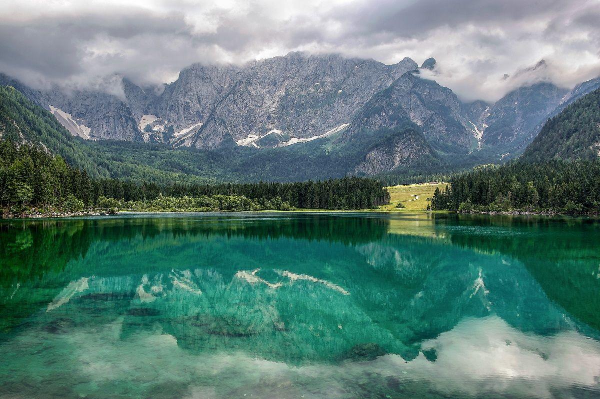 Summer in Fusine Lakes...