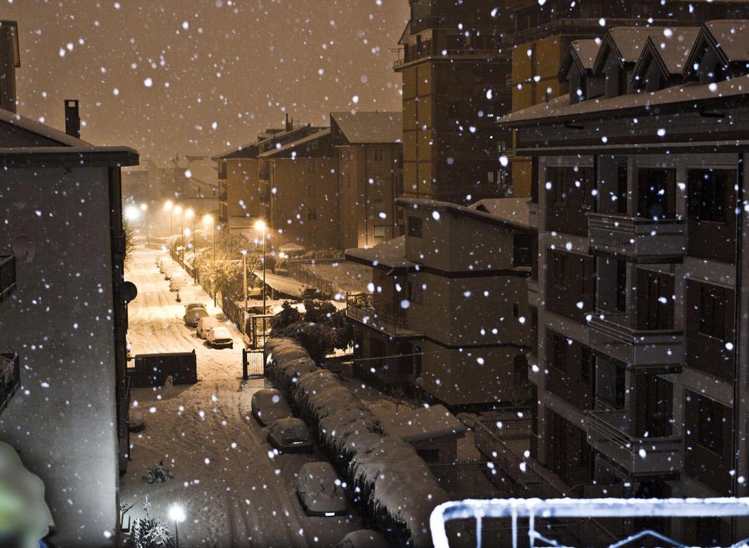 Snowfall 2012...