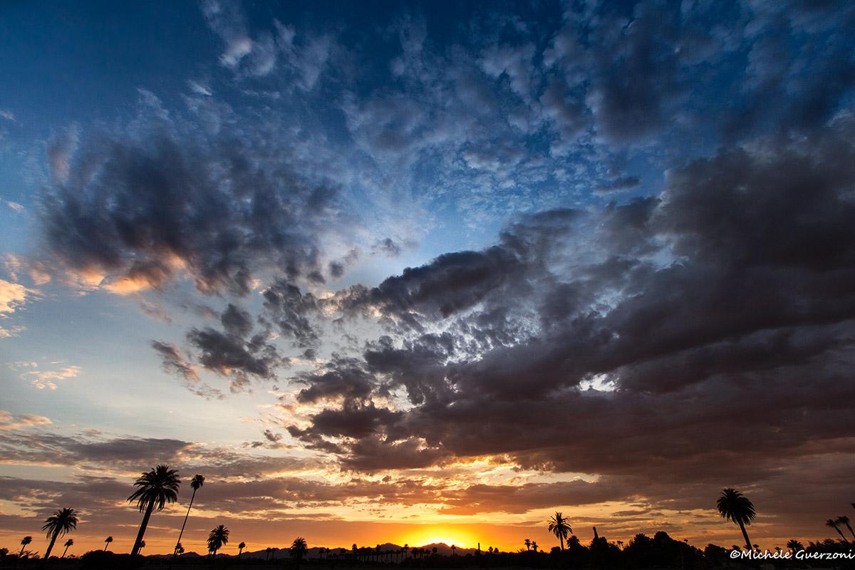 Sunset over the Sonoran Desert...