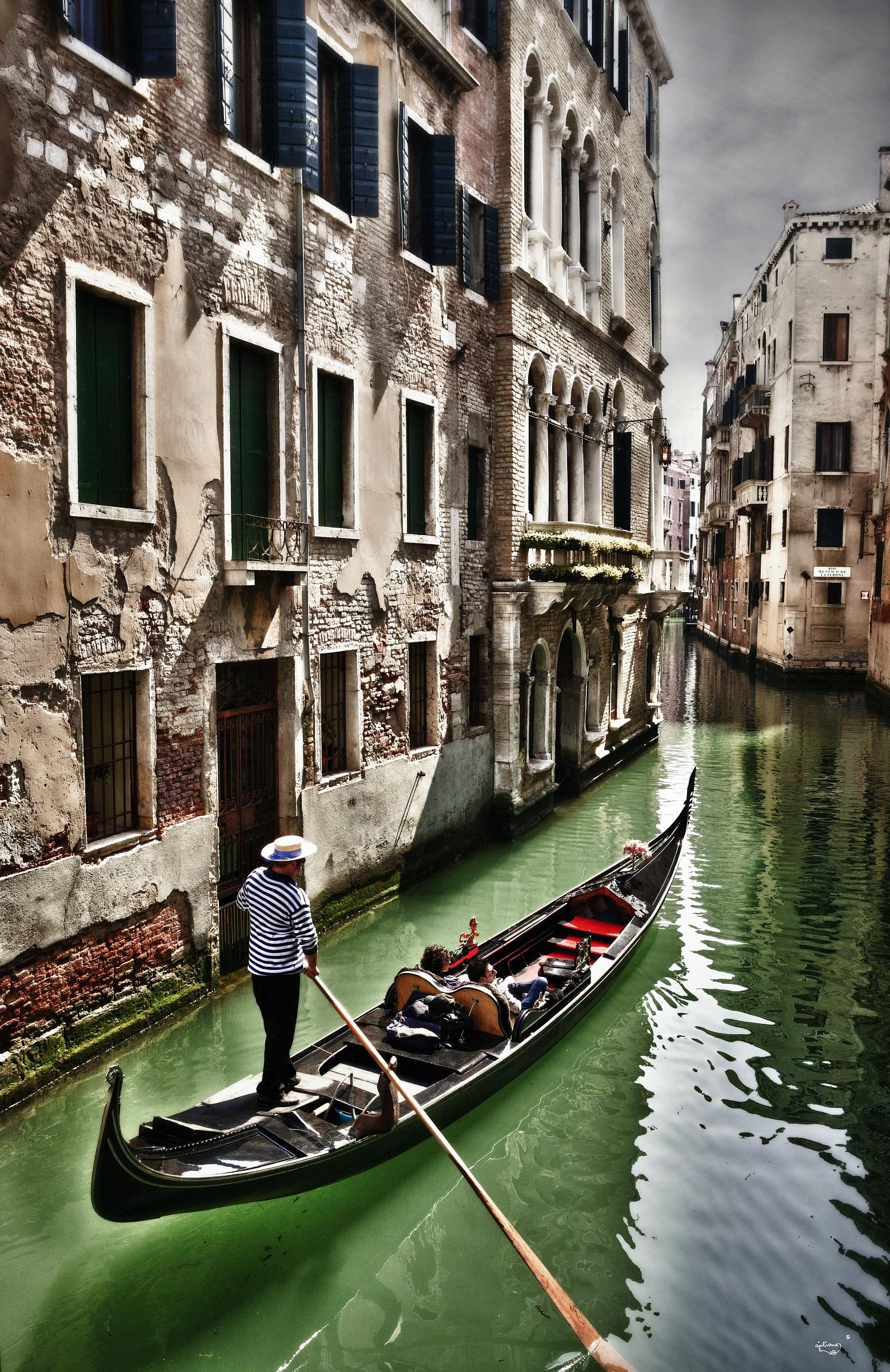 Venice gondolier...