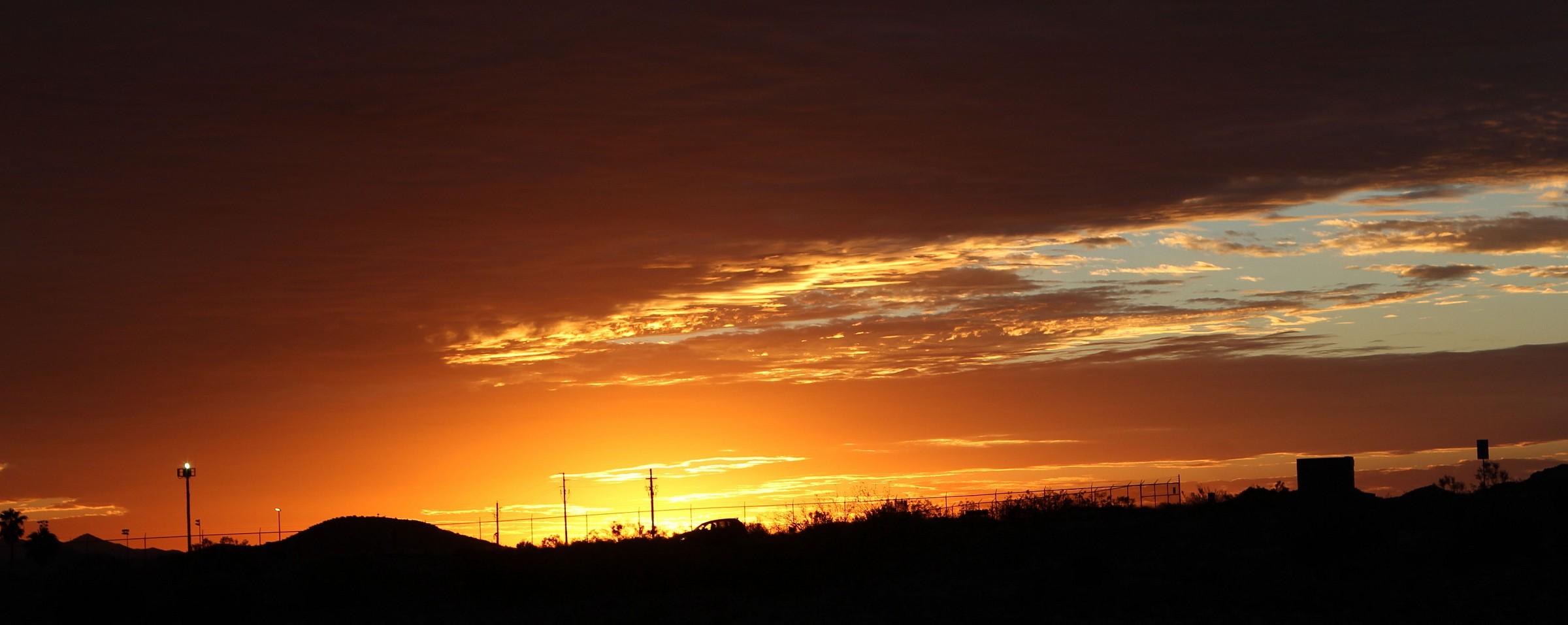 Sunrise in Wickenburg - AZ...