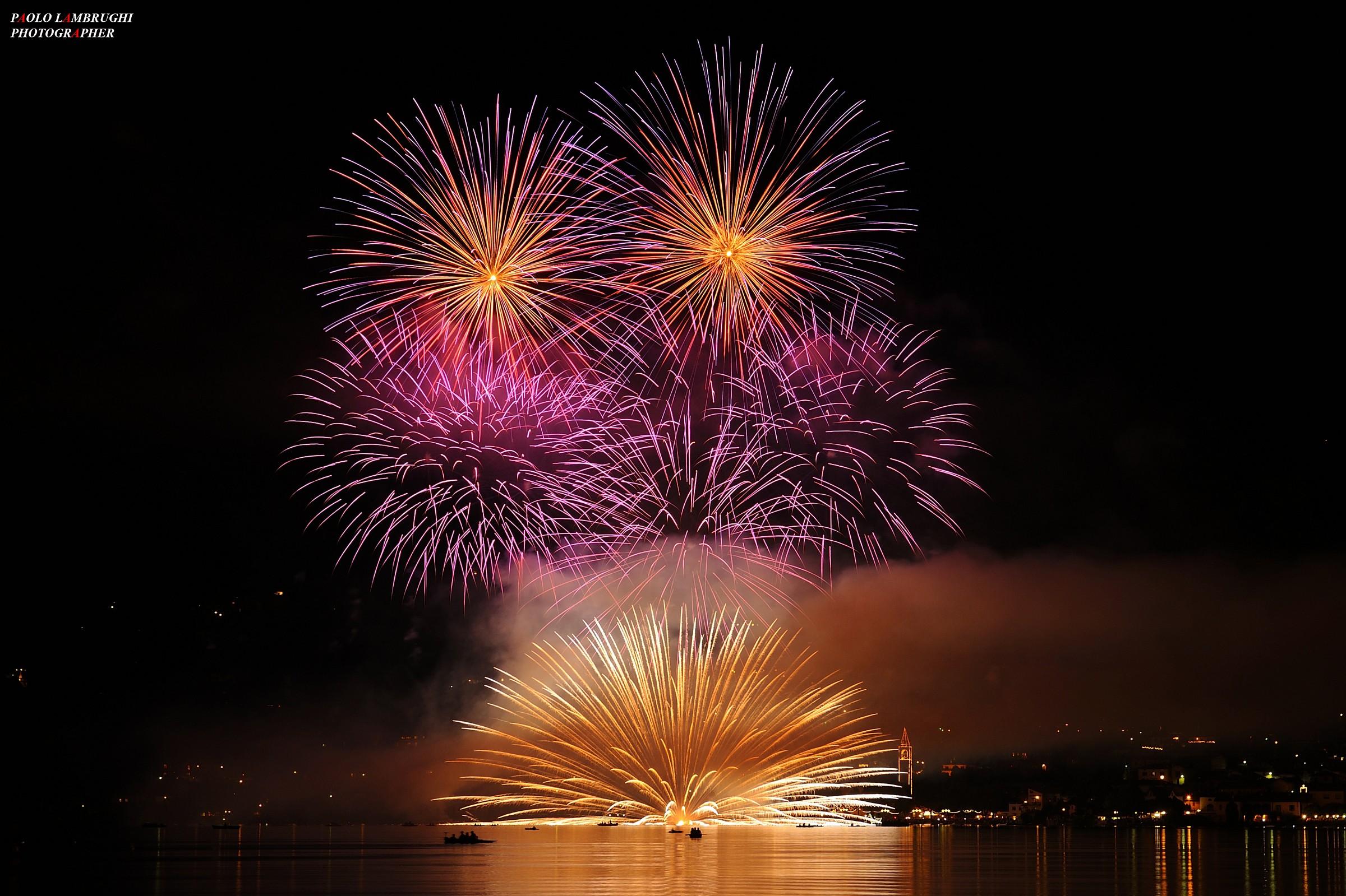 fireworks Pusiano 2014...