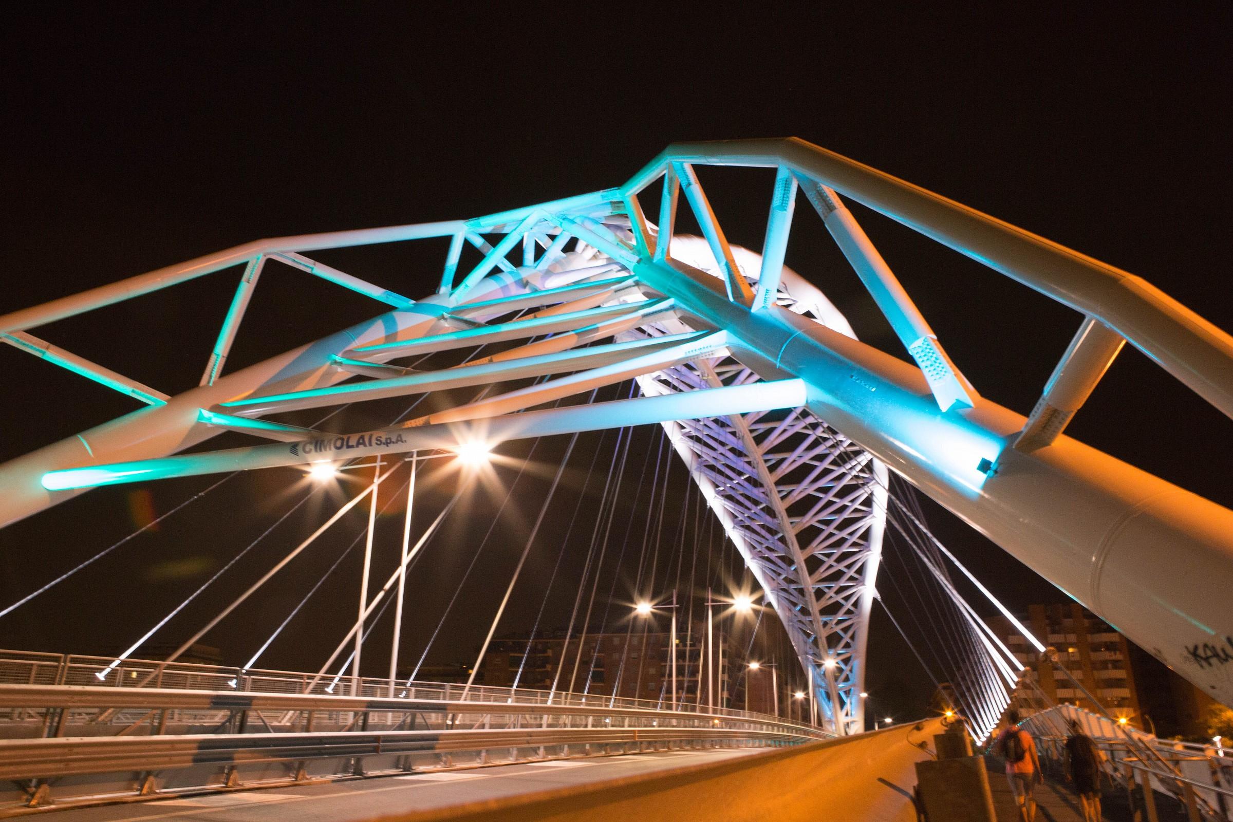 Ponte ostiense by night 1 Roma...