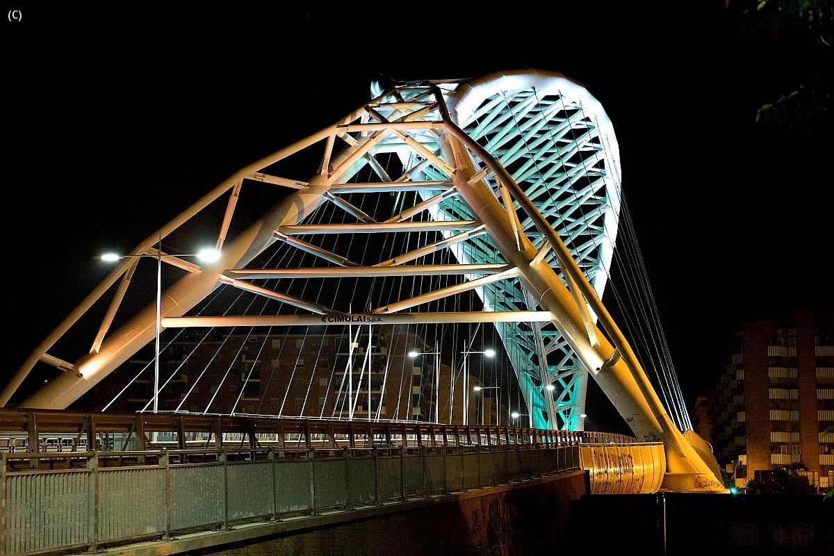 Ponte ostiense by night 2 Roma...