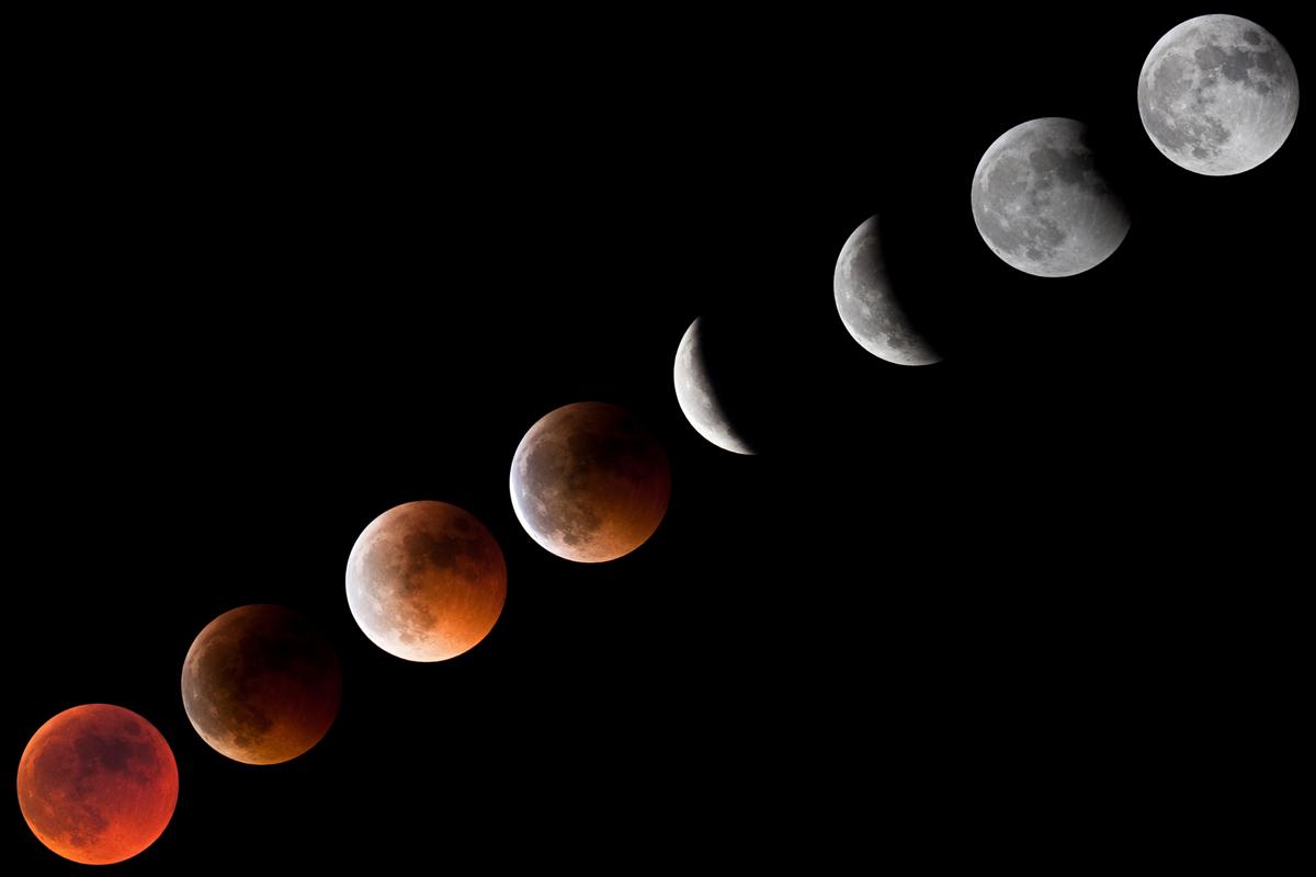 Sequenza Eclisse Luna 15/06/2011...