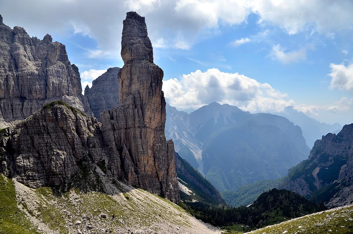 The Campanile di Val Montanaia...