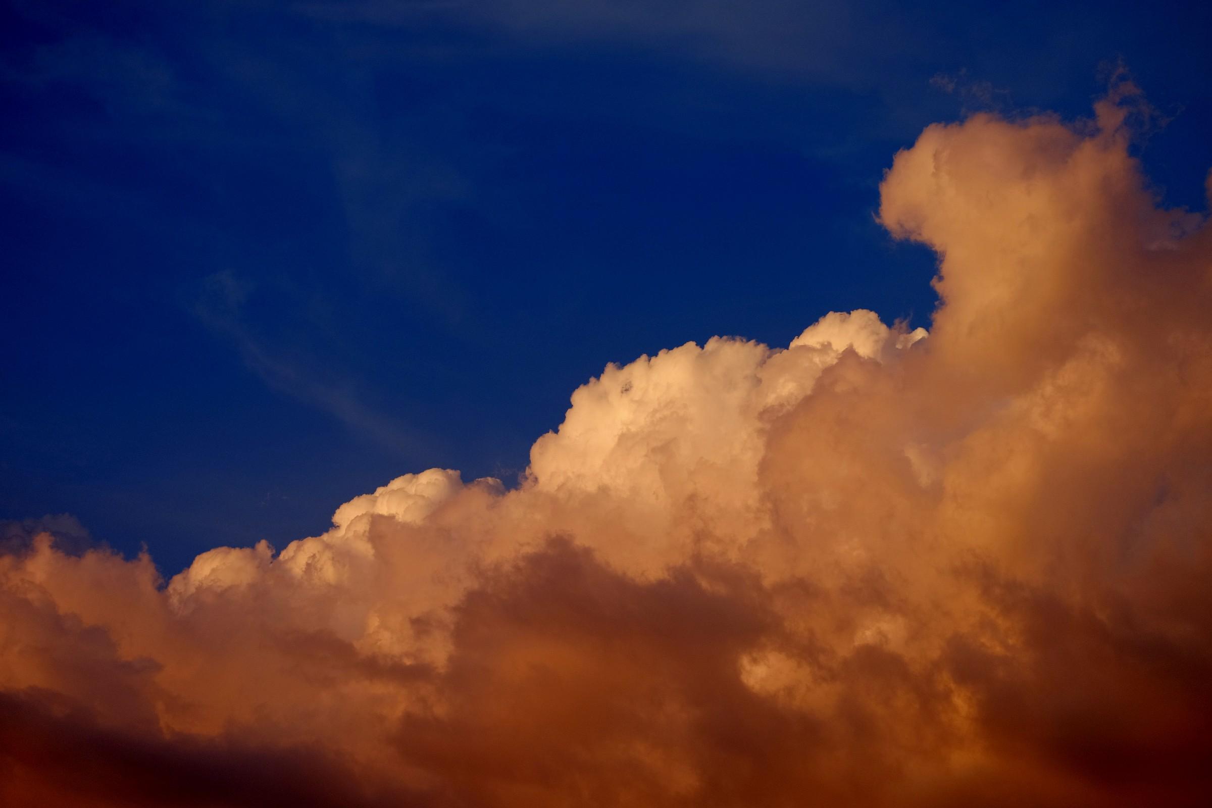 Nuvole al tramonto...