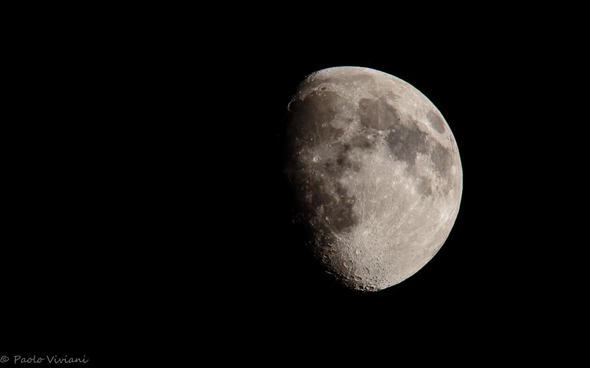 moon - Waxing crescent...