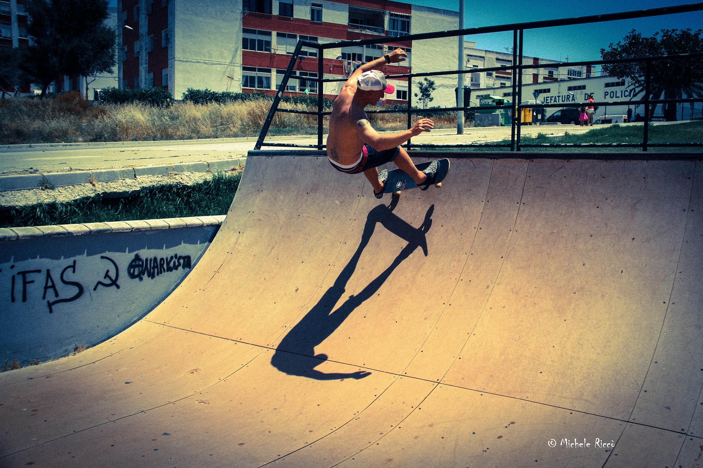 Skater a Tarifa...