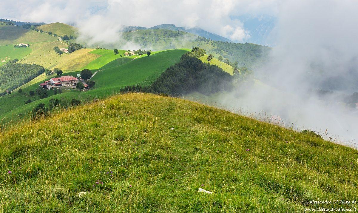 Nuvole sulle colline di San Fermo...