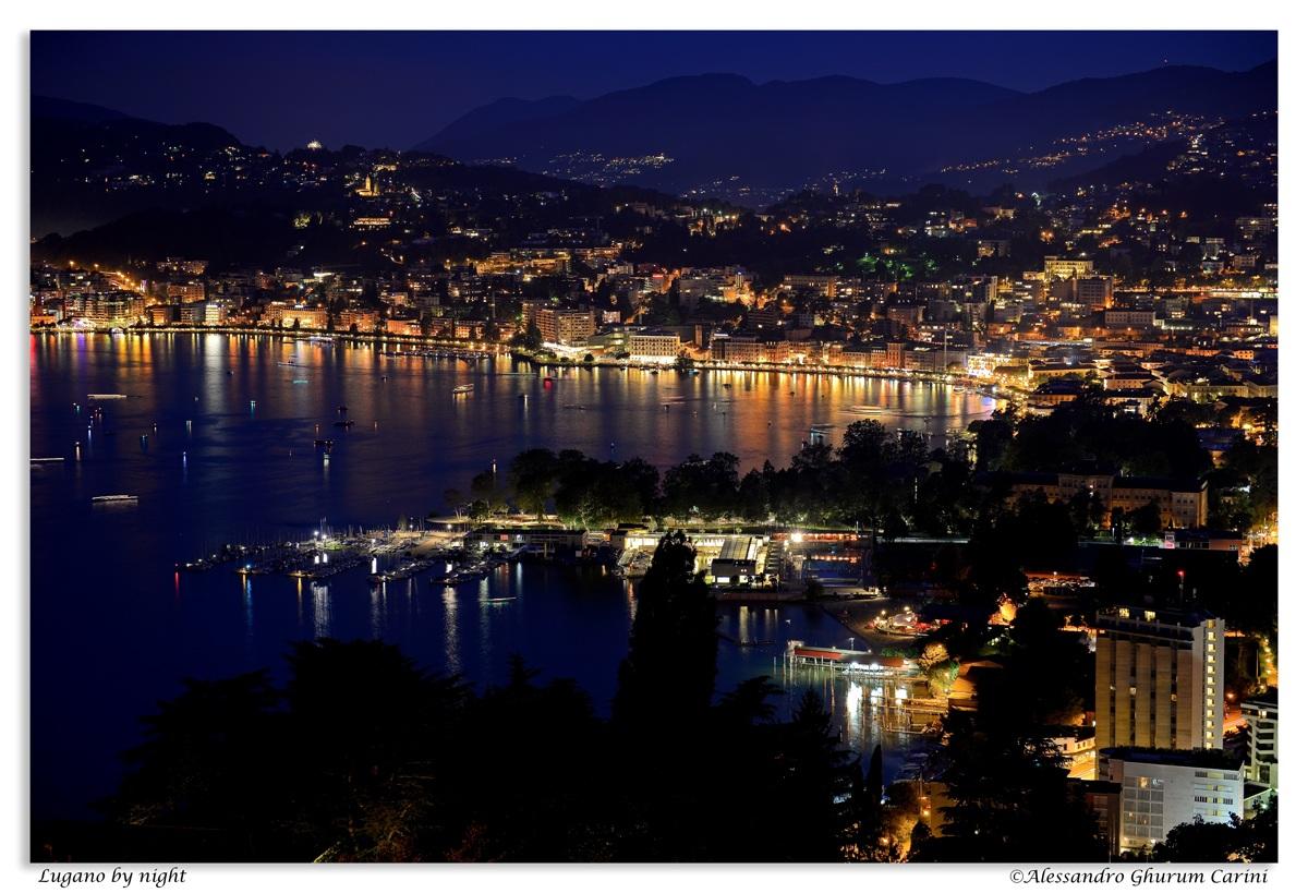 Lugano by Night...