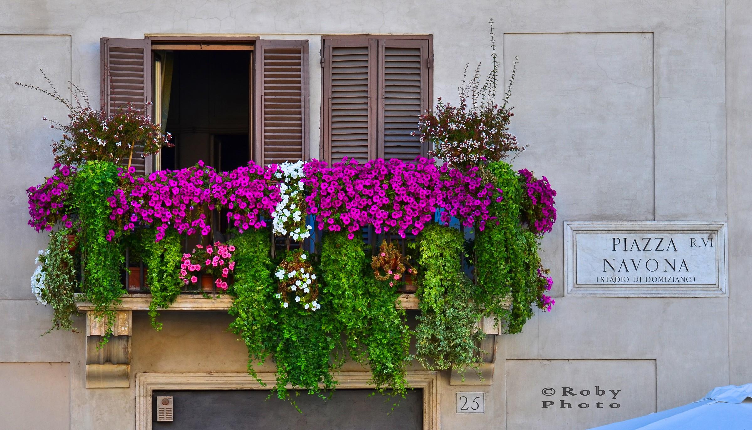 Flowery Balcony...