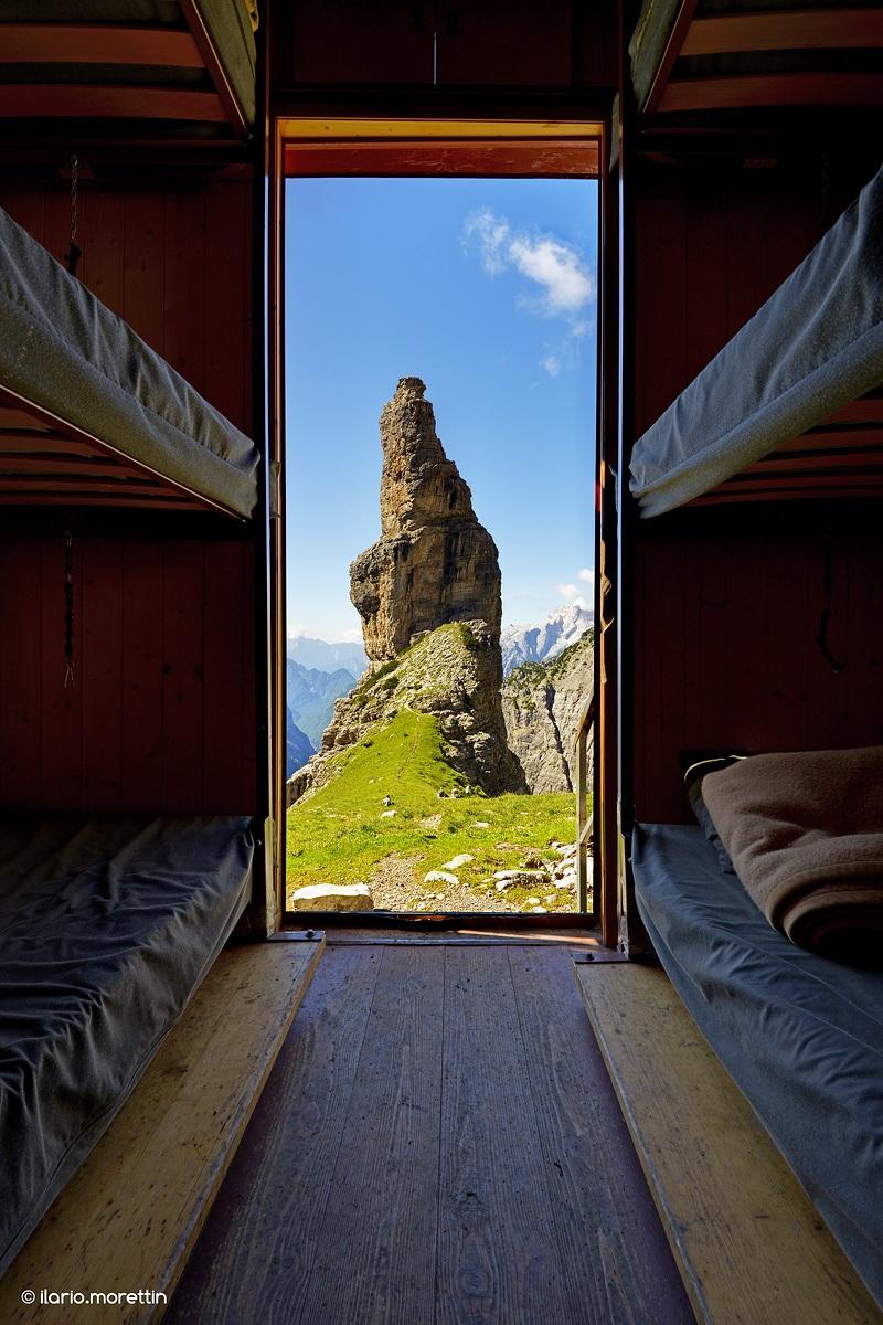 A window on the Campanile...