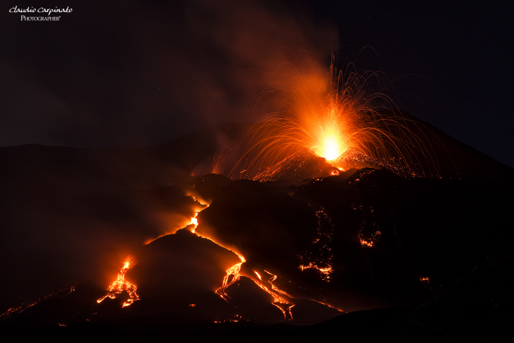 Etna, parossismo 08/0/2014...