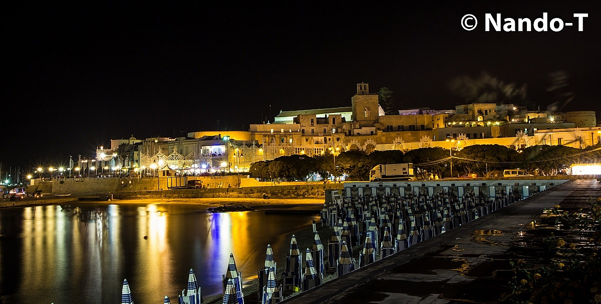 Otranto by night...