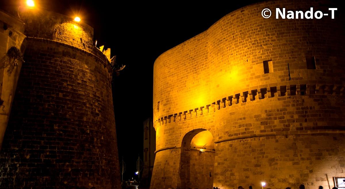 Glimpse Castle Otranto...