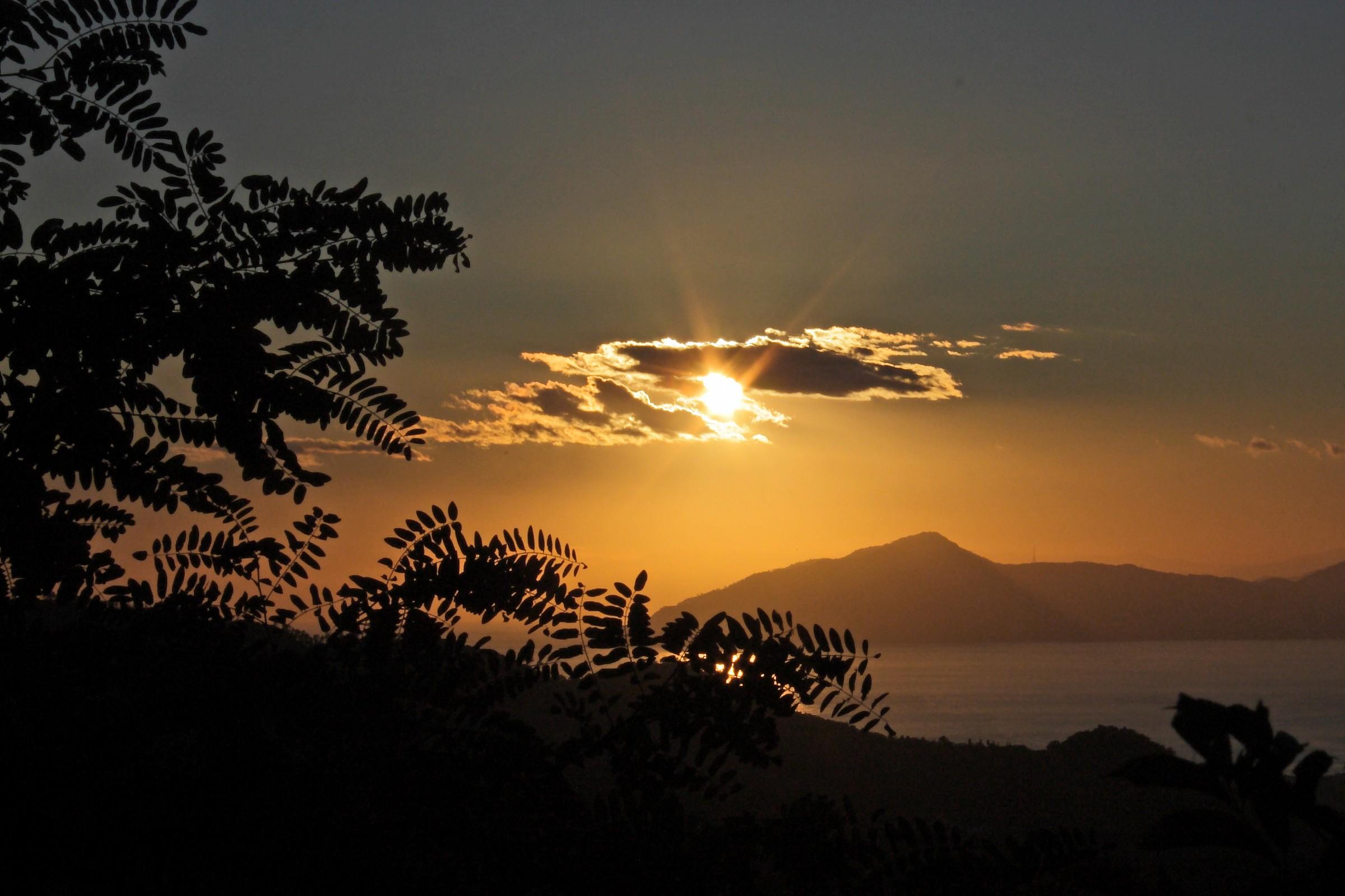 sunset Ligurian...