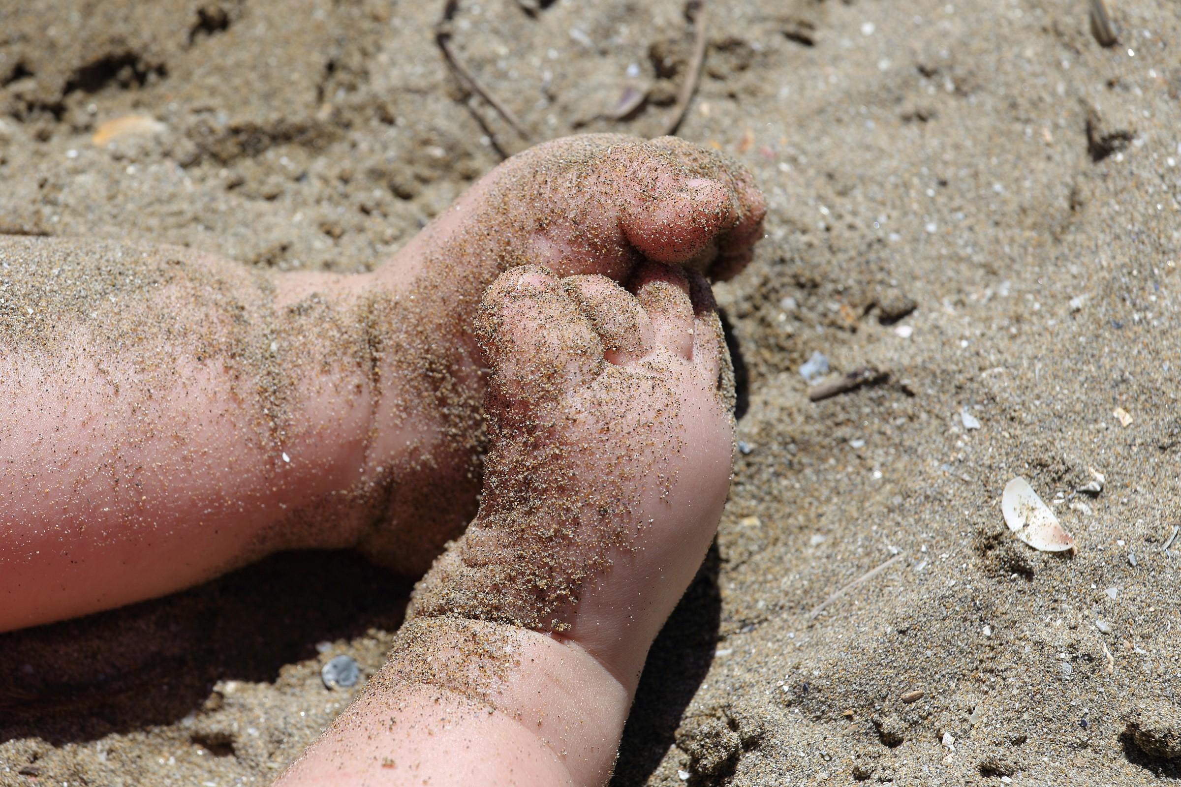 Il battesimo della sabbia...