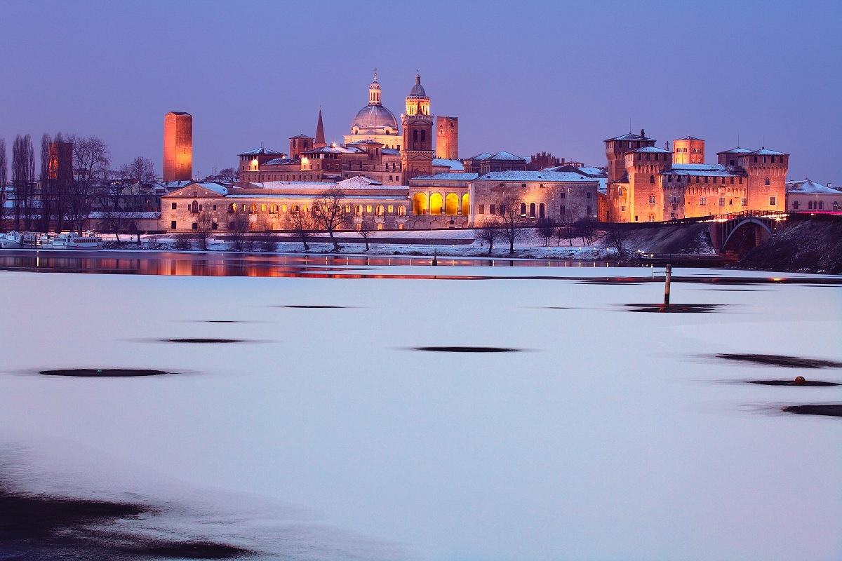 La banchisa a Mantova...