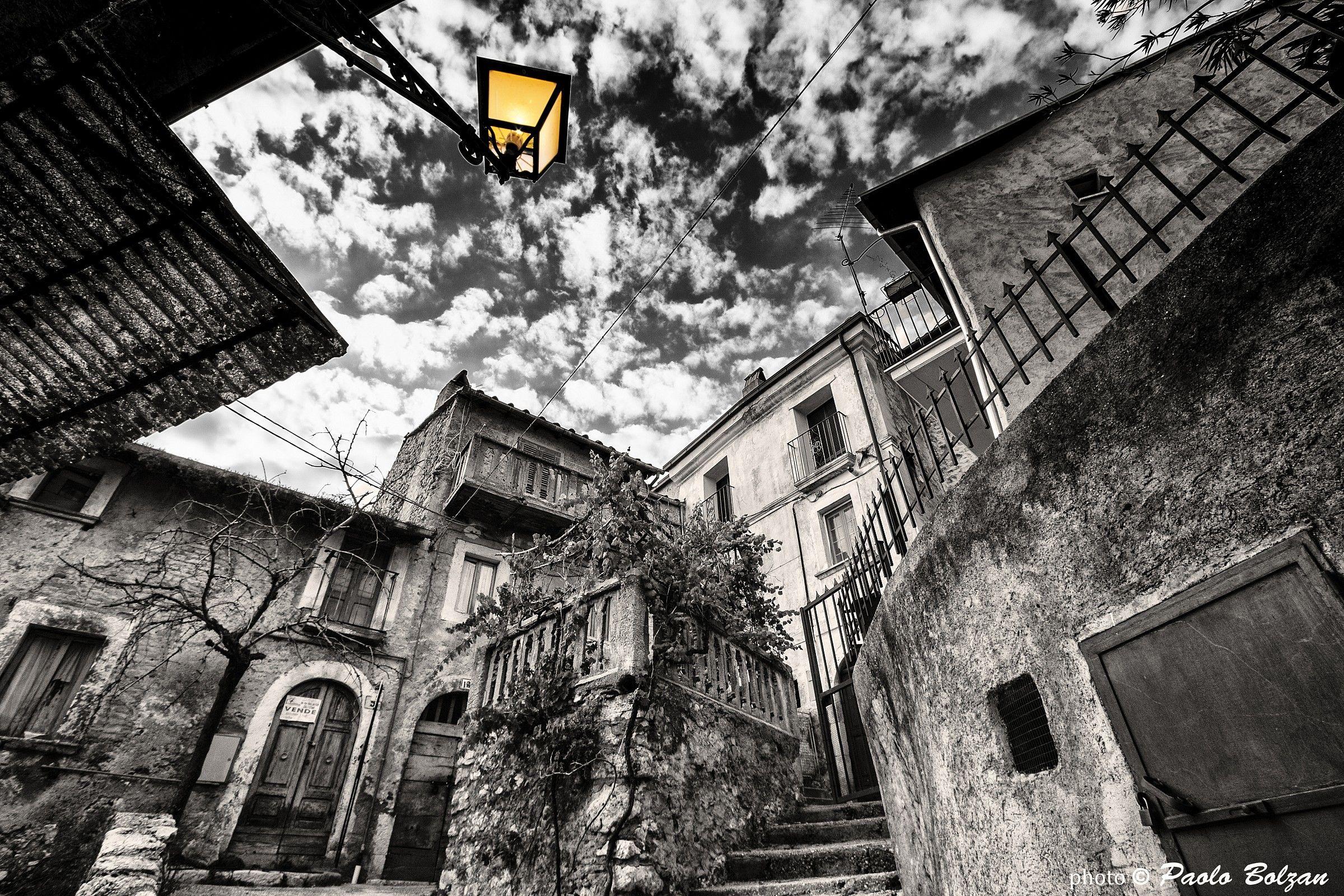Abandoned village...