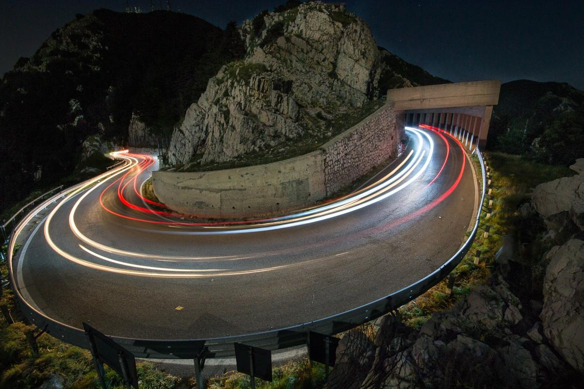 Car Light Painting...