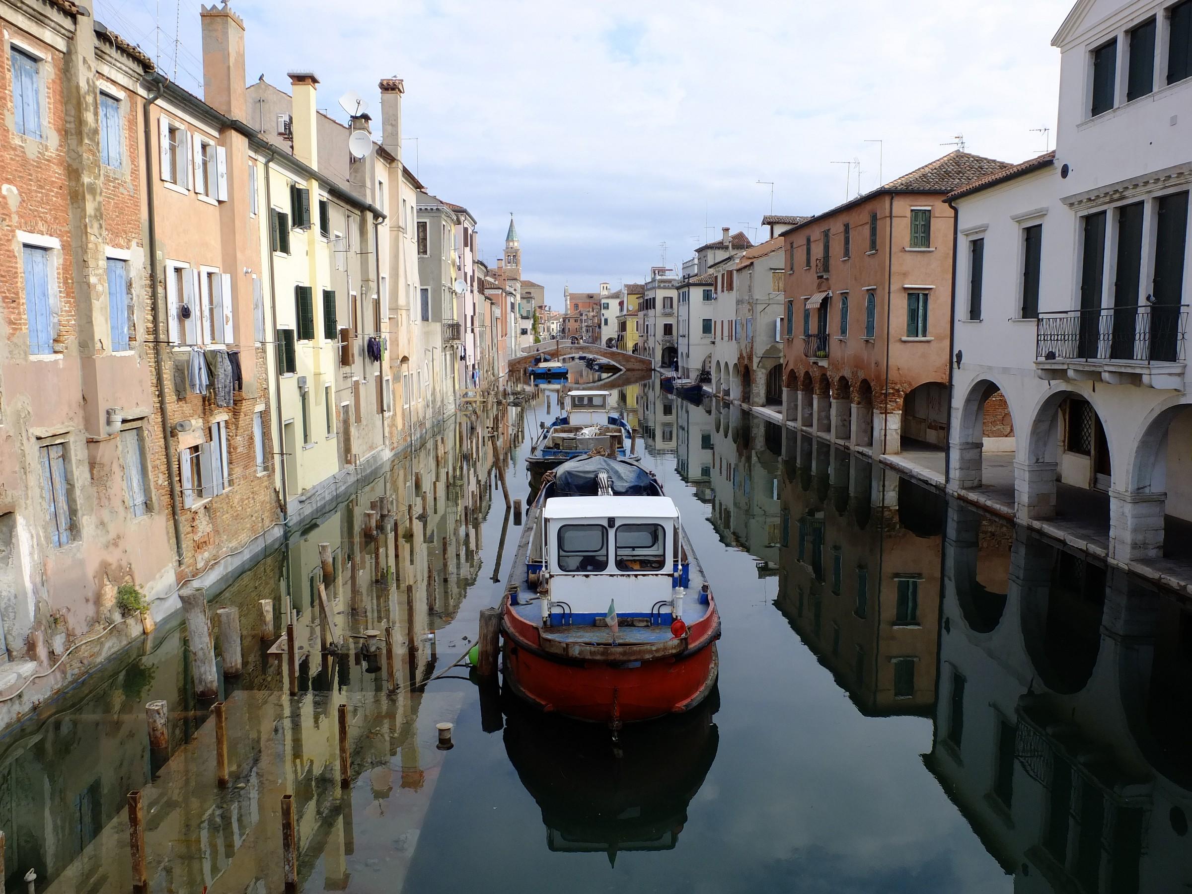 """The """"streets"""" of Chioggia..."""