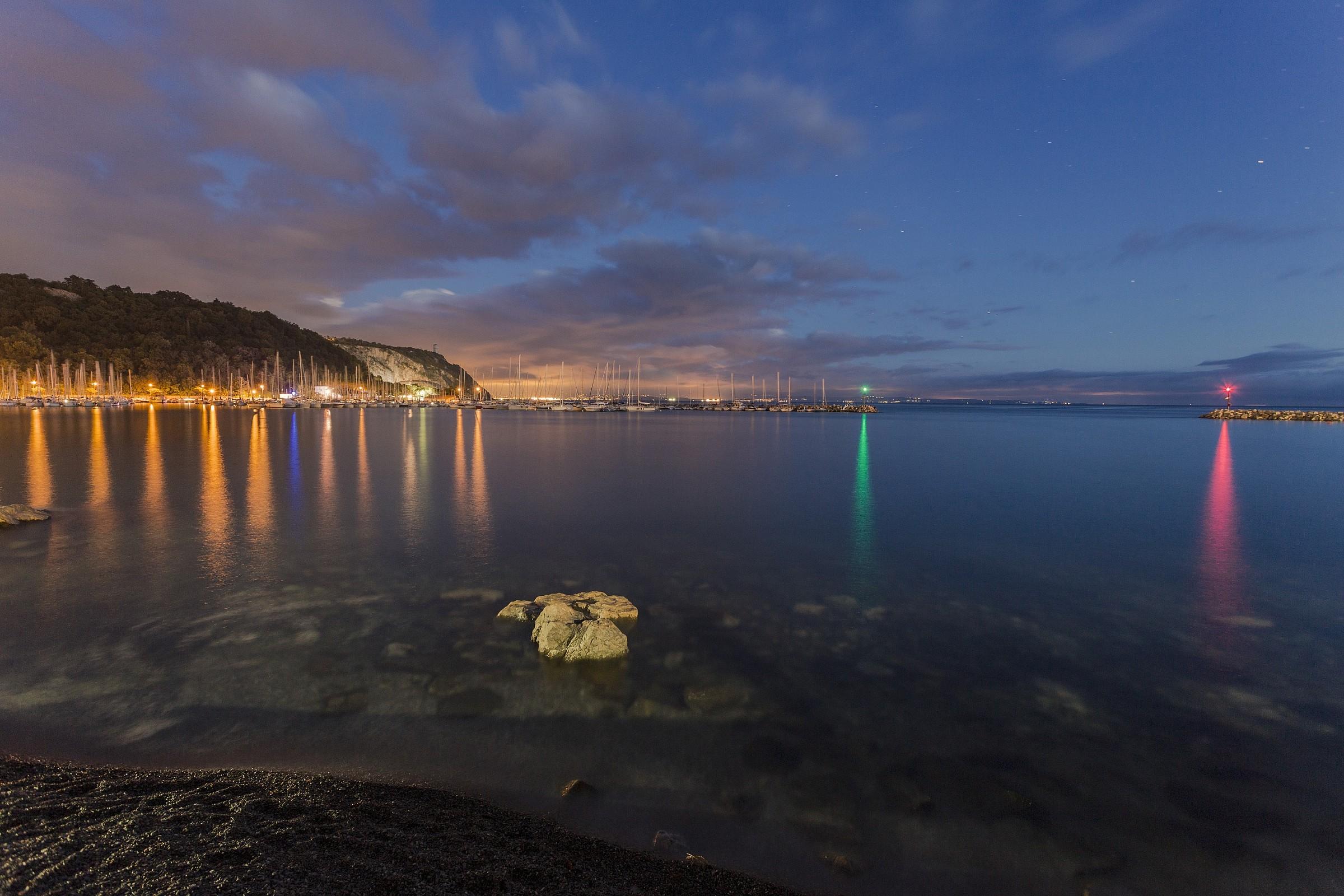 Baia di Sistiana (Trieste)...
