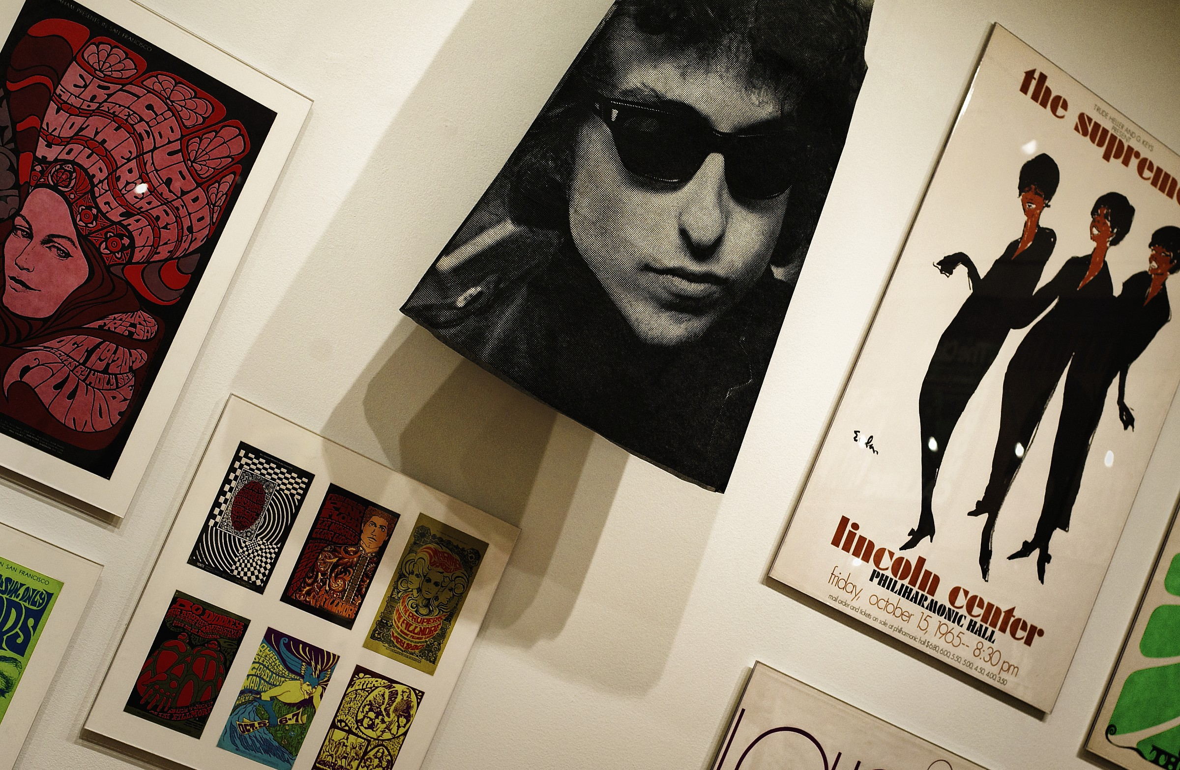 B.Dylan on the wall....