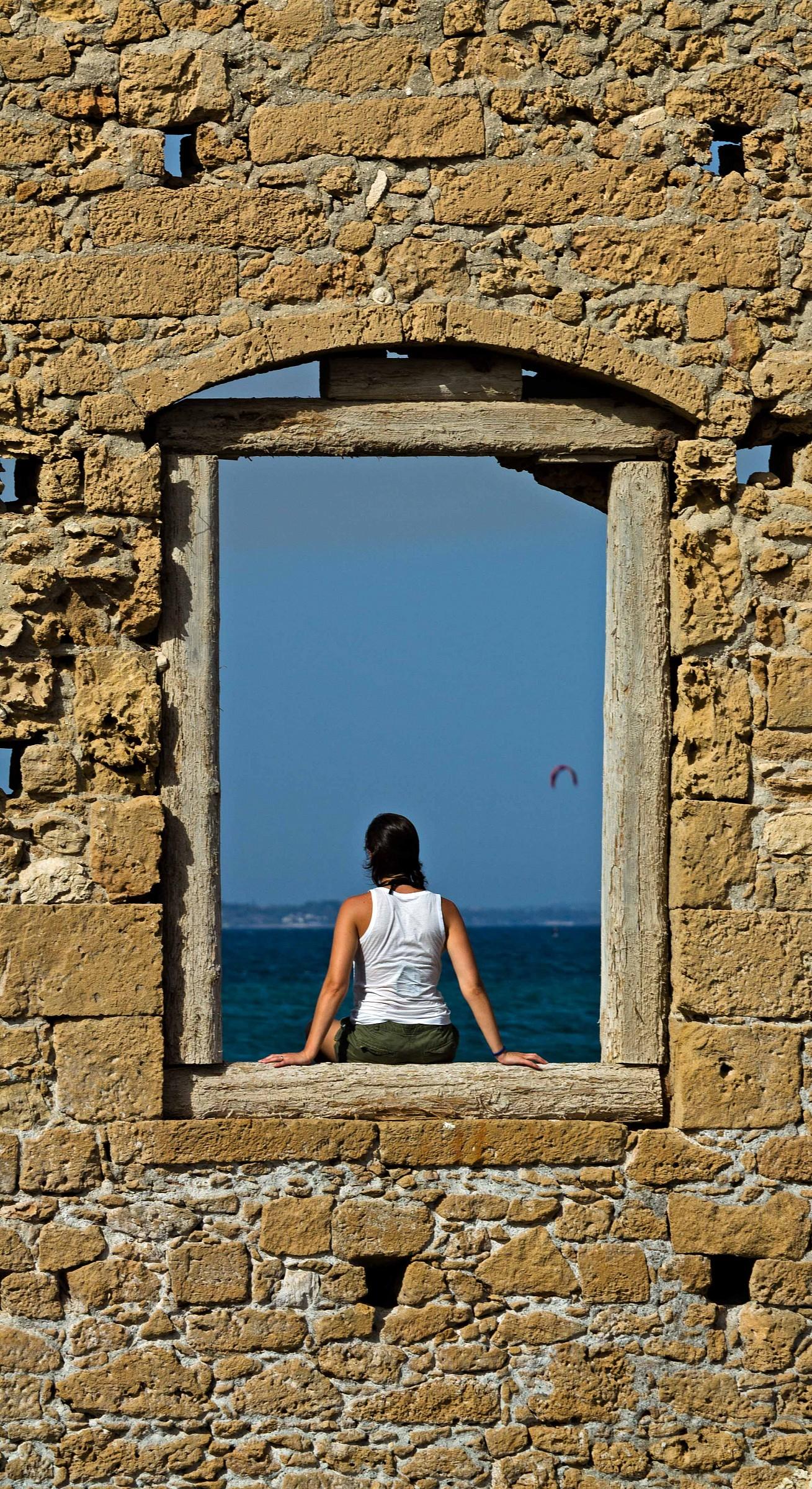 Ascoltando il mare......