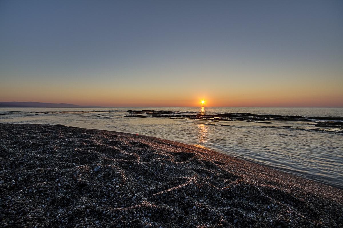 sunrise at the head Zefirio...