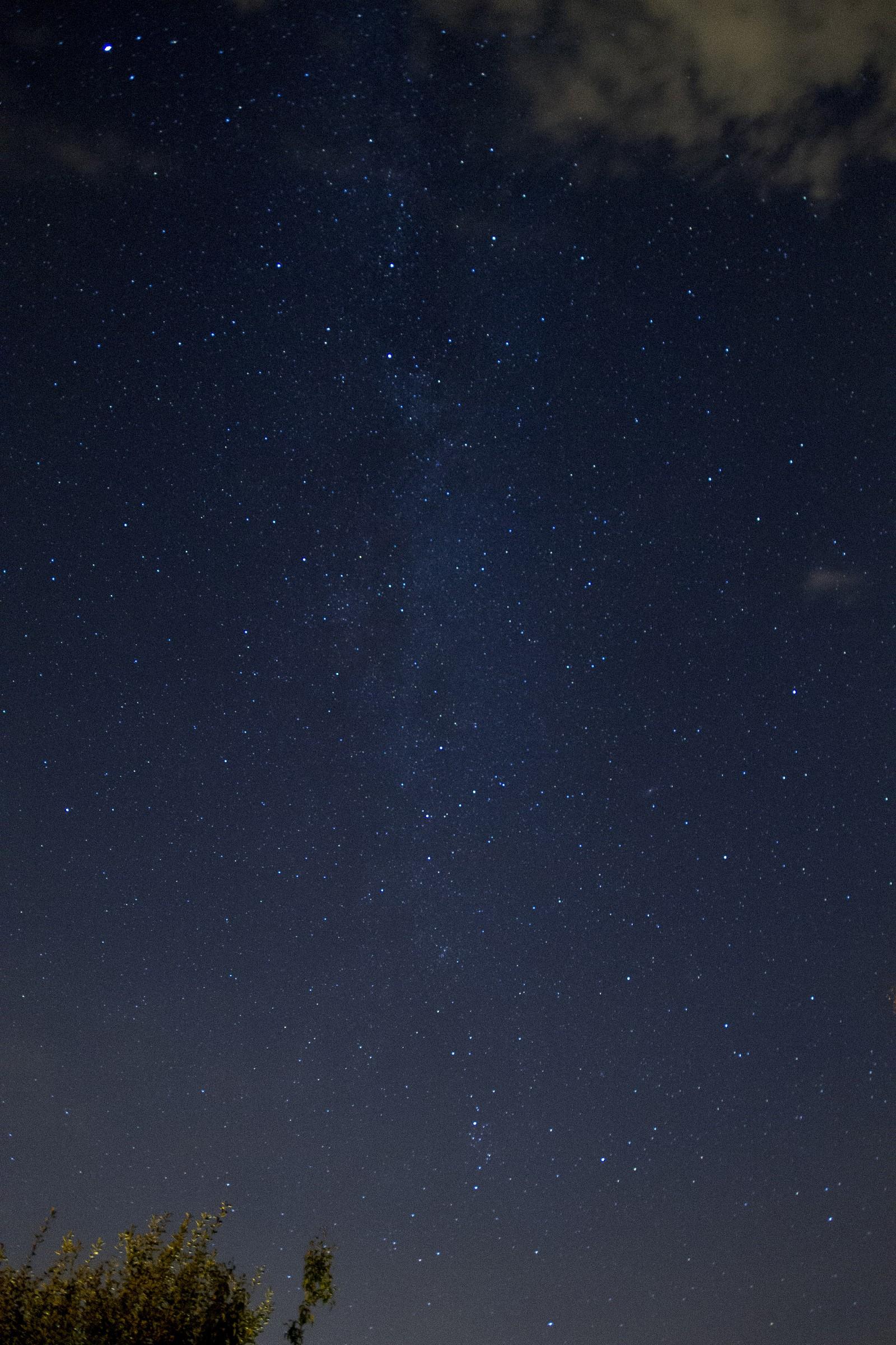Milky Way (test 1)...