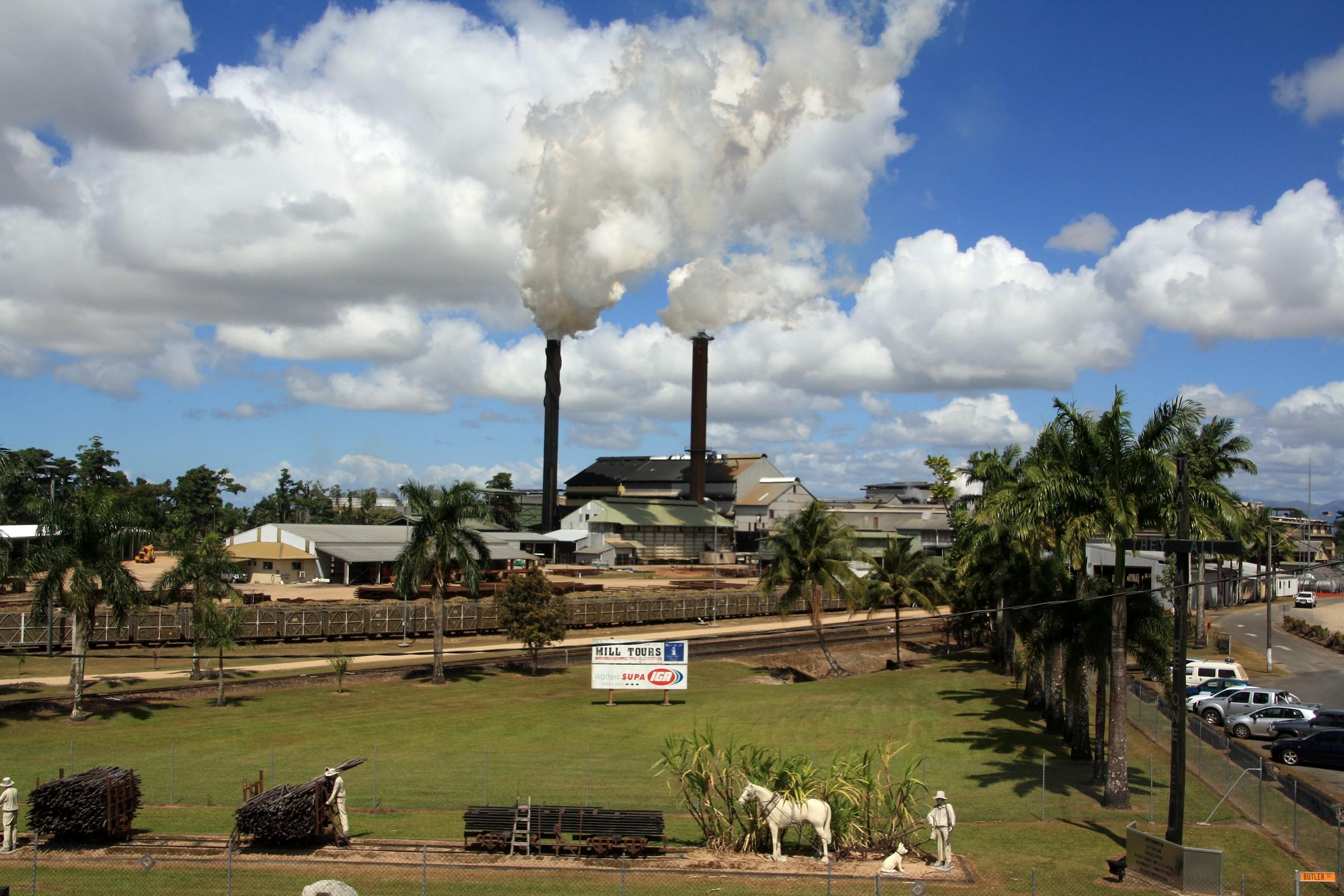 Qeensland - sugar industry...