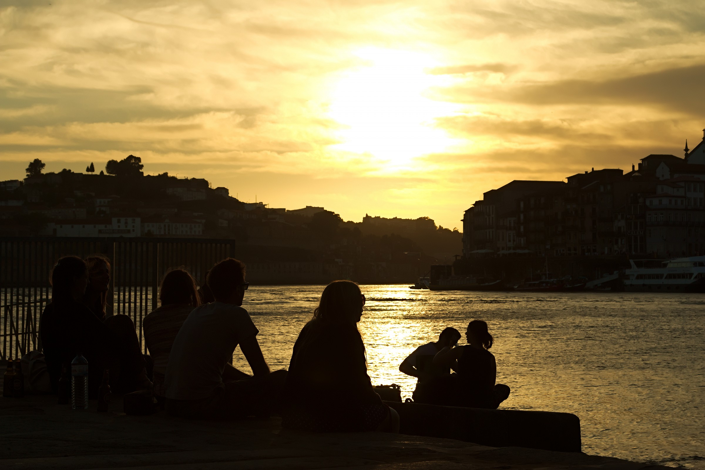Tramonto a Porto...in Compagnia...
