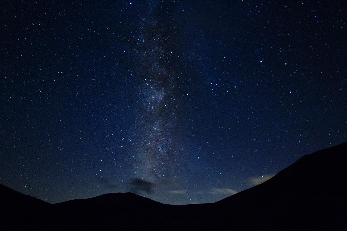 Milky Way to Castelluccio...