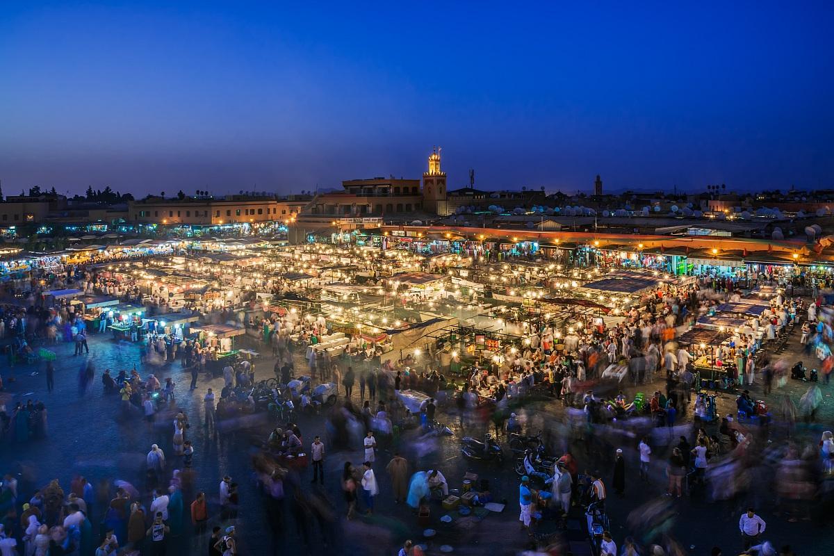 Marrakech: the magic of the Jemaa El Fna...