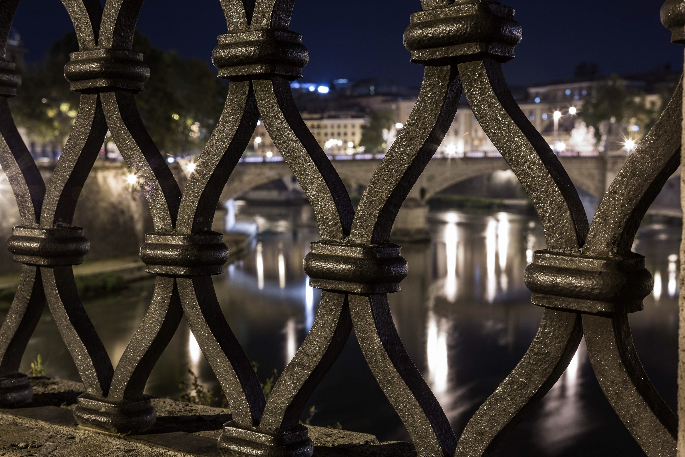 Ponte Sant'Angelo 1by night...