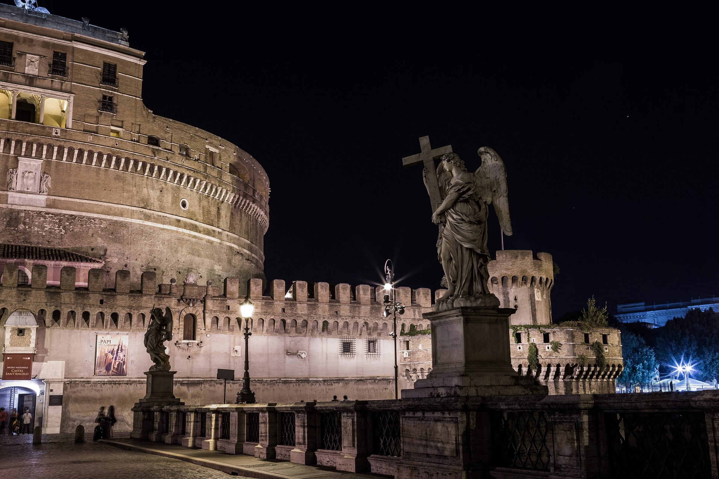 Castel Sant'Angelo 2 by night...