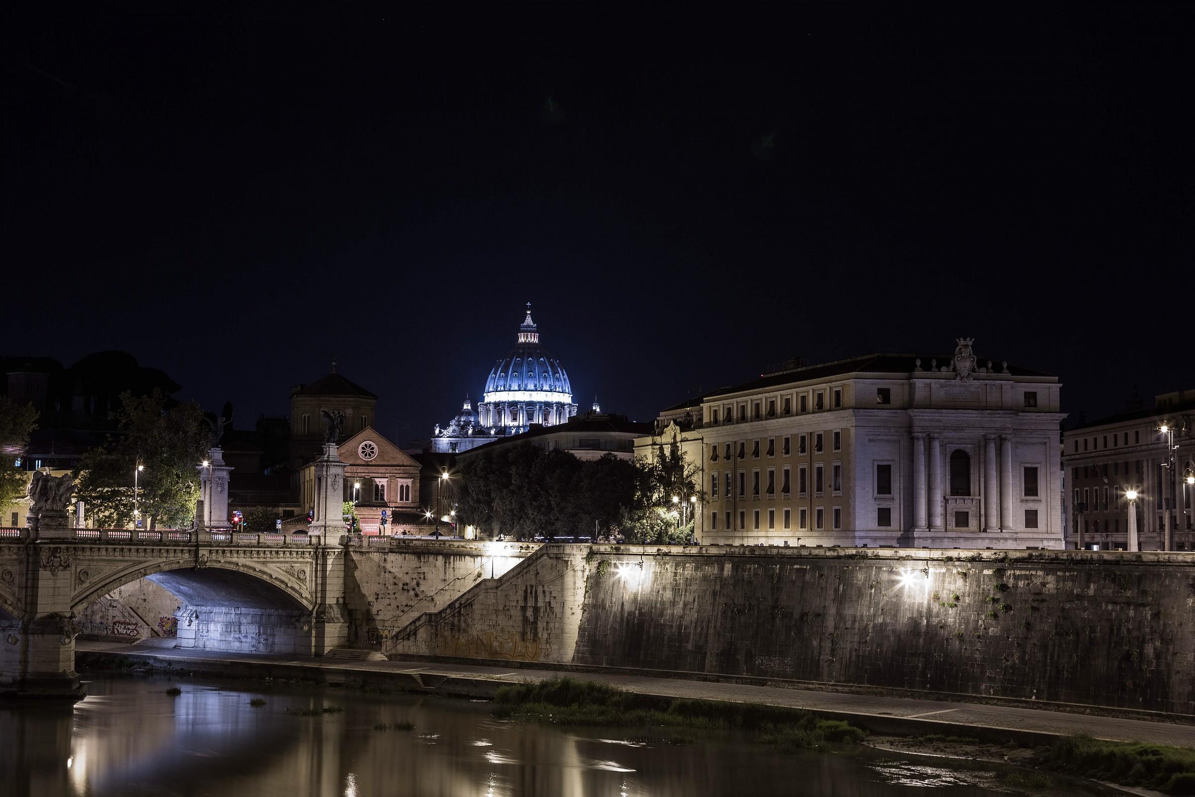 Vista da ponte Sant'Angelo 1...