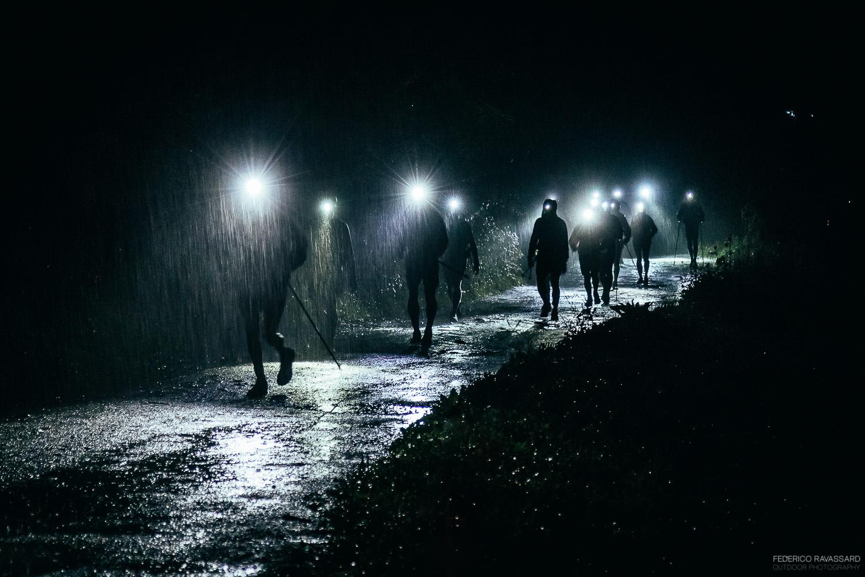 Rainy night UTMB...