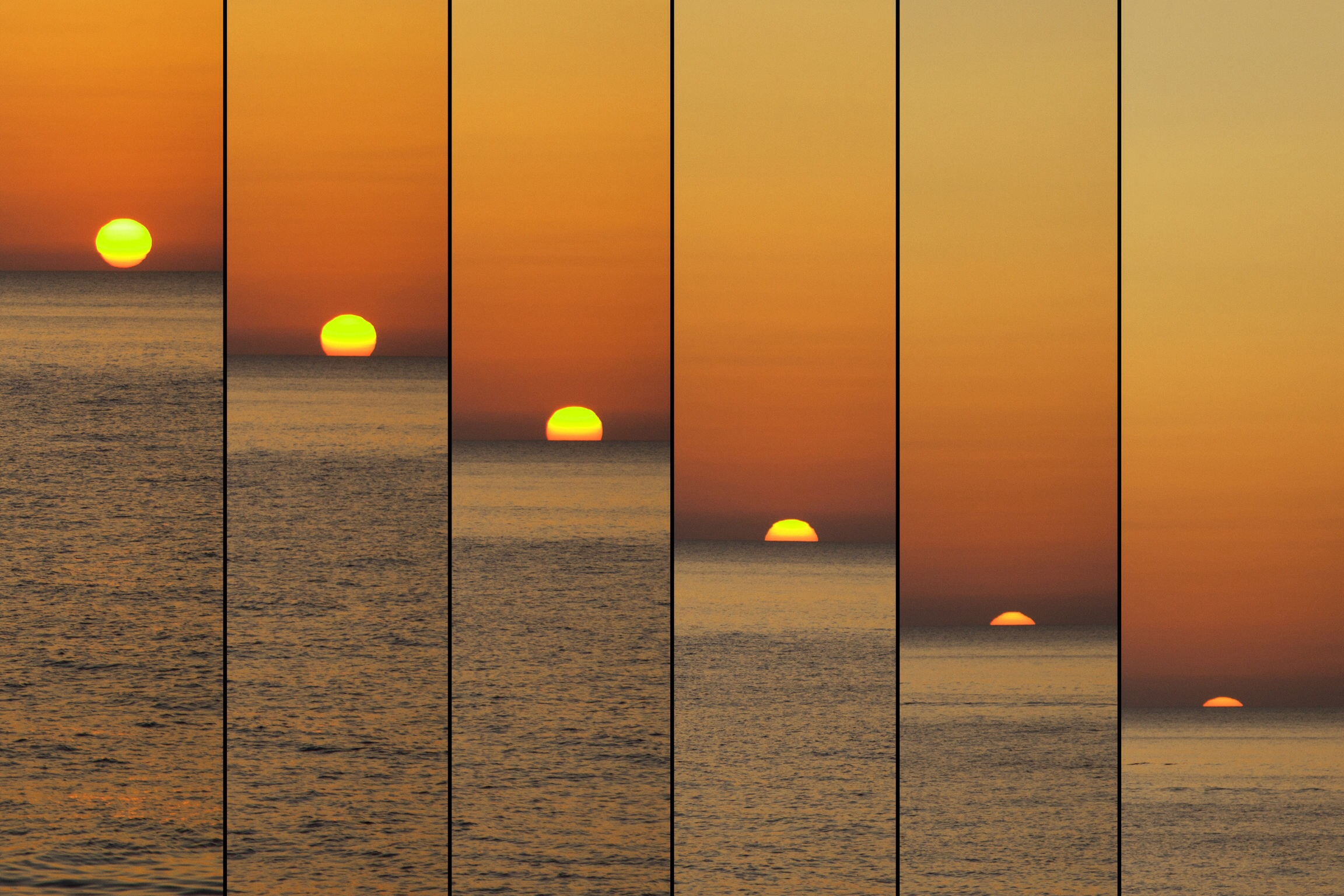 Sunset ... in series...