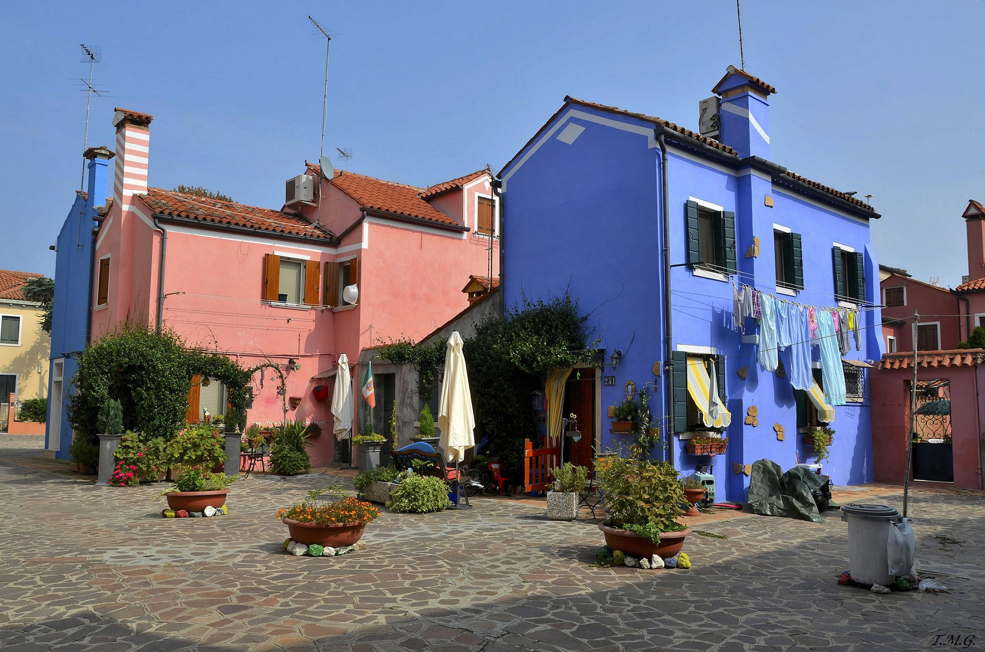 The colors of Burano...