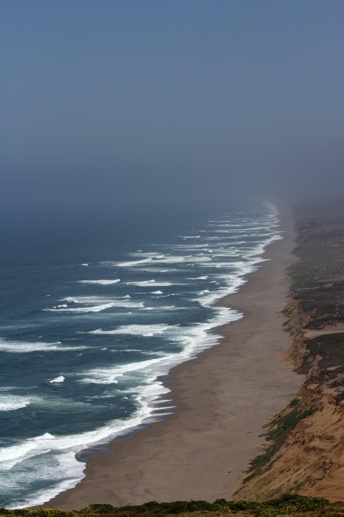La spiaggia infinita...